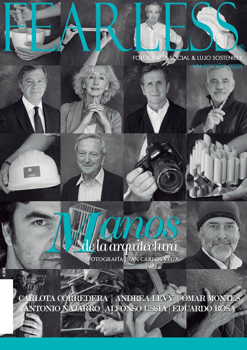 Manos de la Arquitectura. Fotografía Juan Carlos Vega. Cover  Fearlees Mag.