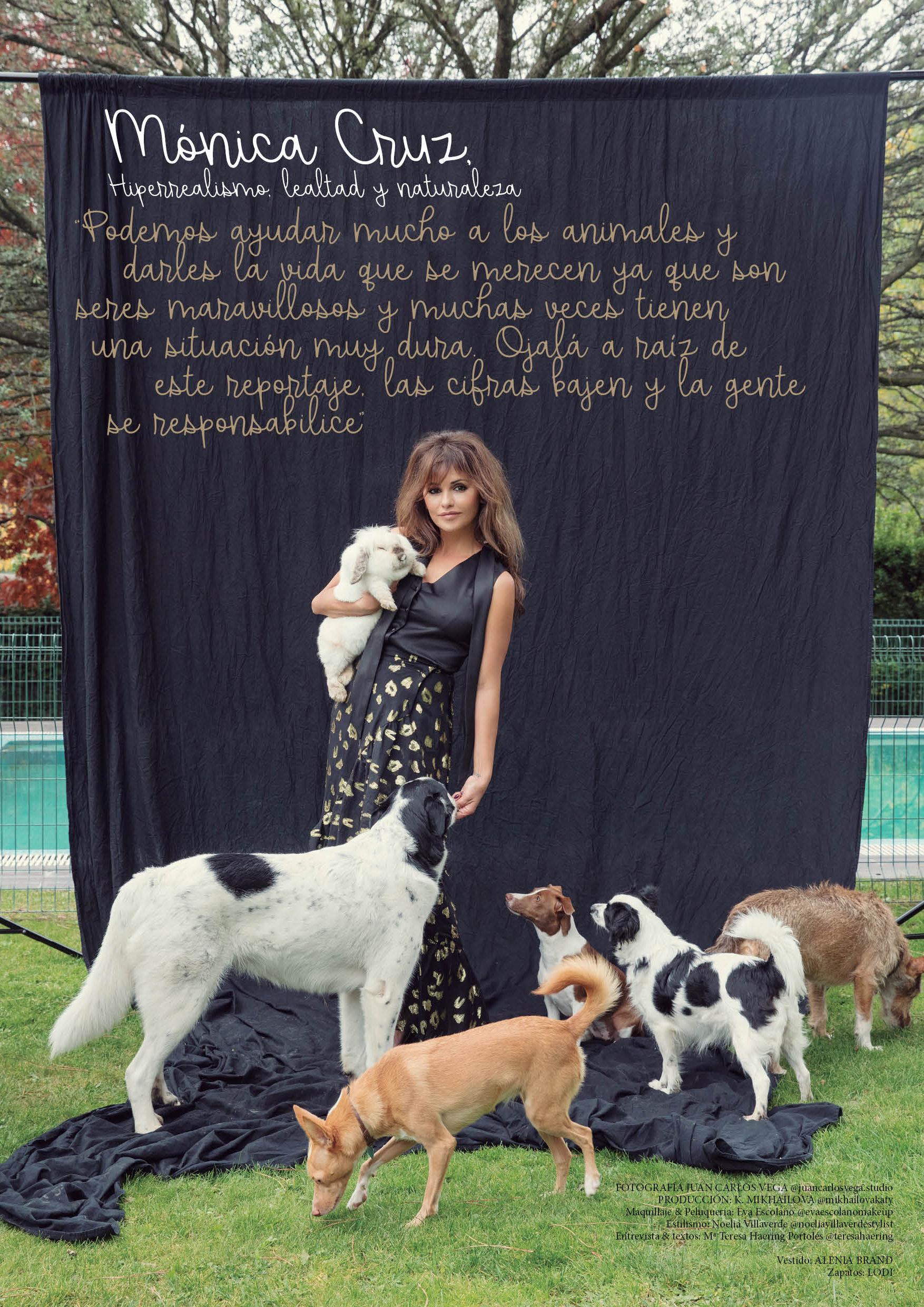 Mónica Cruz, Leales a los animales by VEGA